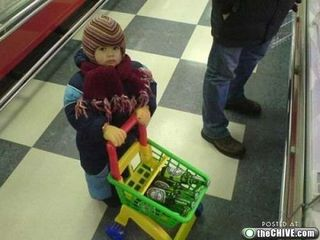 Mother of the year, shopping, beer, mom, child